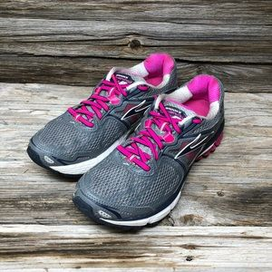 Brooks Women Ravenna 5 Pink Grey Running Shoes